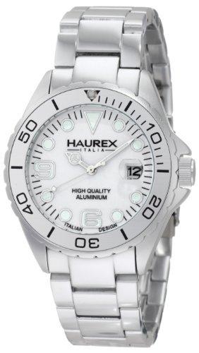 Haurex Italy Haurex Italien Silber Zifferblatt Silber Aluminium Mens Watch 7K374UWW