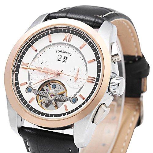 Leopard Shop forsining f120571 Herren Mechanische Armbanduhr Tourbillon automatische 3