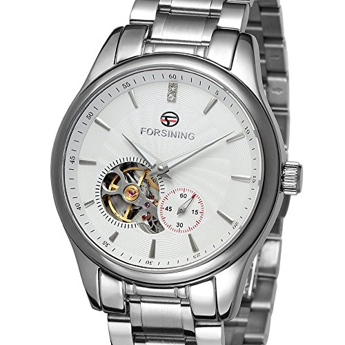 forsining Herren Edelstahl Case Automatische Luxus Armbanduhr fsg9406 m4s1