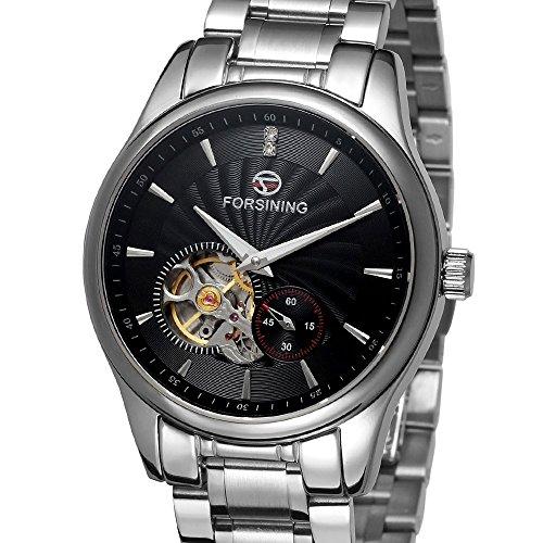 forsining Herren Edelstahl Case Automatische Luxus Armbanduhr fsg9406 m4s2