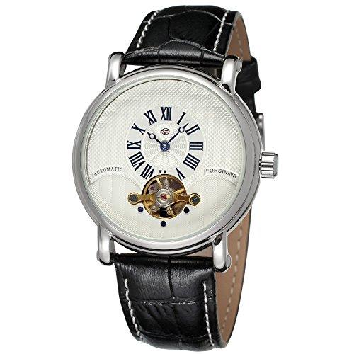 forsining Herren Echtes Leder Analog Zifferblatt automatische Armbanduhr fsg800 m3s1