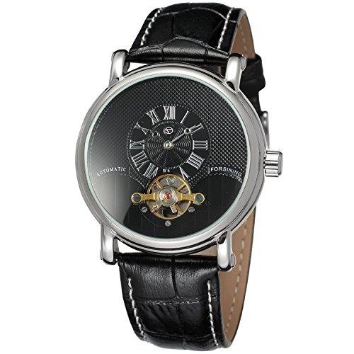 forsining Herren Echtes Leder Analog Zifferblatt automatische Armbanduhr fsg800 m3s2