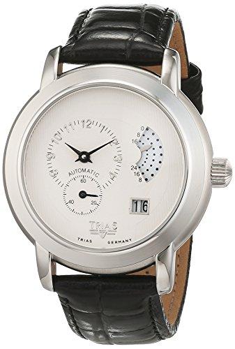 Trias Herren Armbanduhr Analog Automatik Leder TR T21508W