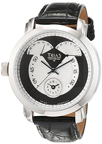 Trias Herren Armbanduhr Analog Automatik Leder TR T21684S