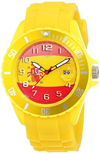 Trias Herren Armbanduhr Analog Quarz Plastik Spanien Gelb