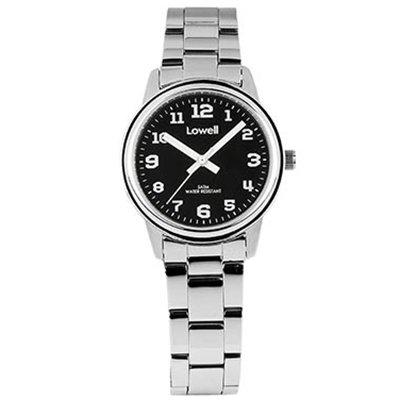 Armbanduhr Damen Stahl schwarz pl4011 82 Lowell