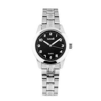 Armbanduhr Damen Stahl schwarz pl4021 82 Lowell