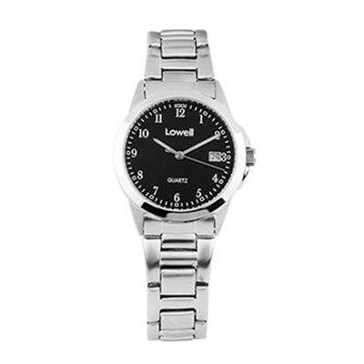 Armbanduhr Damen Stahl schwarz pl4051 82 Lowell