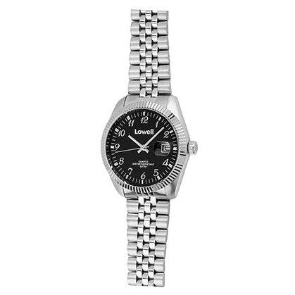 Armbanduhr Damen Stahl schwarz PL4500 02 Lowell