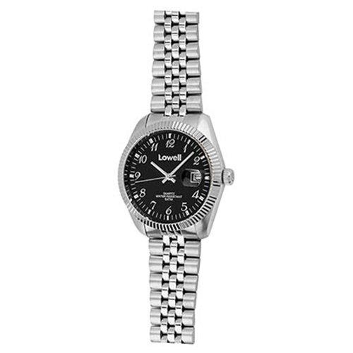 Armbanduhr Damen Stahl schwarz PL4800 02 Lowell