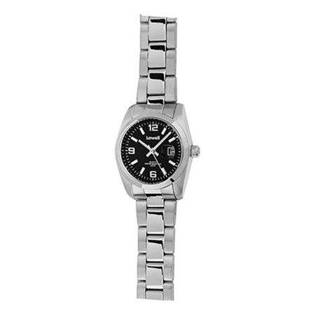 Armbanduhr Damen Stahl schwarz pl5200 02 Lowell