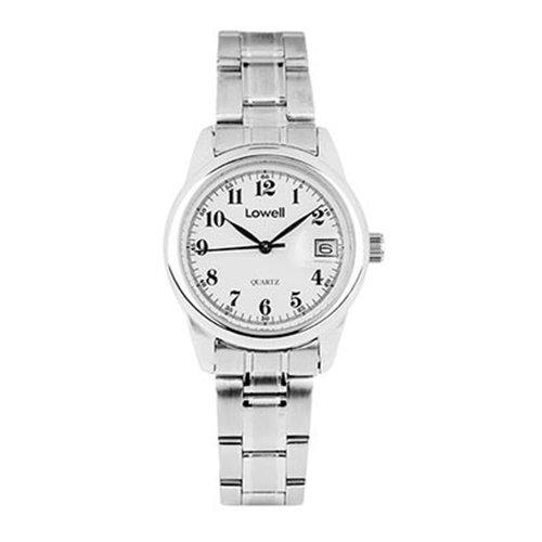 Armbanduhr Damen Stahl weiss pl4031 80 Lowell