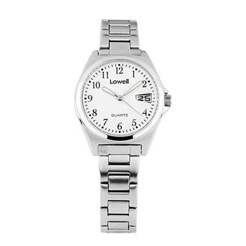 Armbanduhr Damen Stahl weiss PL4041 80 Lowell