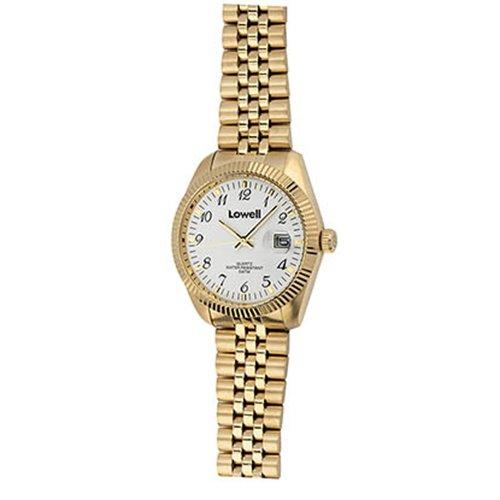 Armbanduhr Damen Stahl Gold PL4500 61 Lowell