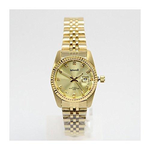 Armbanduhr Damen Stahl Gold PL4700 66 x Lowell