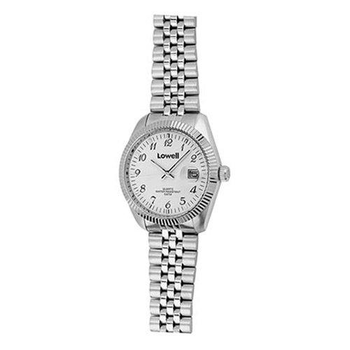 Armbanduhr Damen Stahl weiss PL4800 01 Lowell
