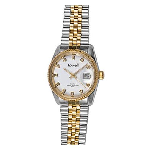 Armbanduhr Damen Edelstahl vergoldet pd9665 21 Lowell