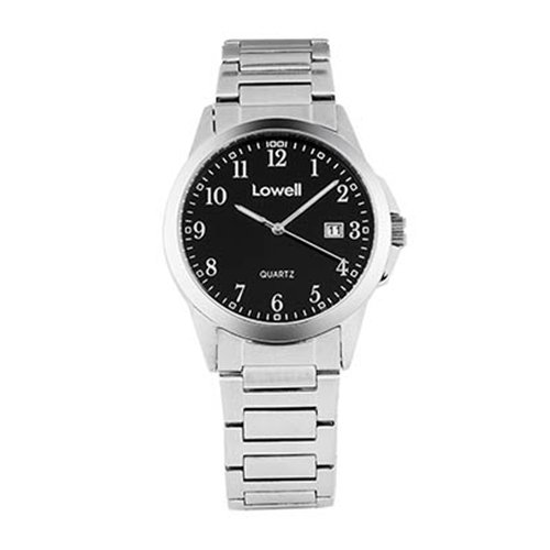 Armbanduhr Herren Stahl Schwarz PL4050 82 Lowell