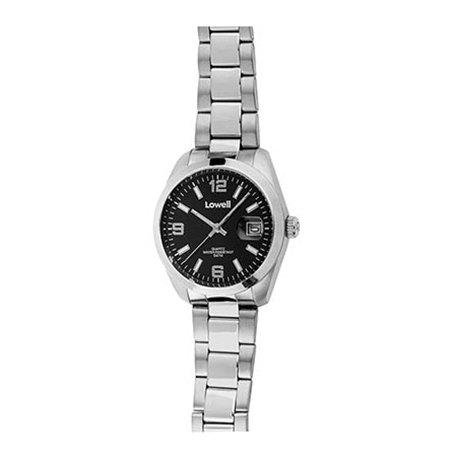 Armbanduhr Herren Stahl Schwarz PL5000 02 Lowell