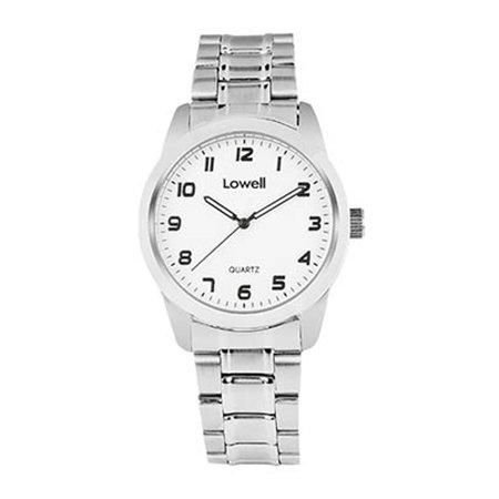 Armbanduhr Herren Stahl weiss pl4020 80 Lowell
