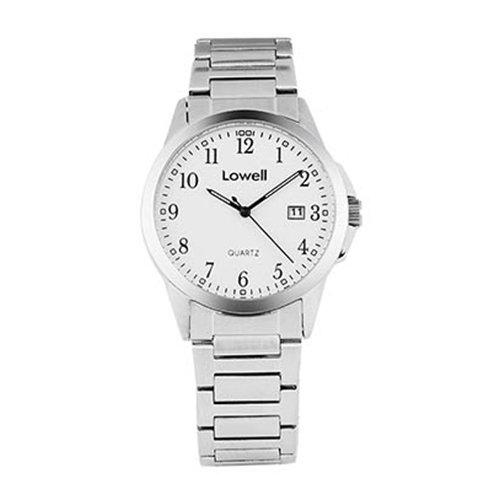 Armbanduhr Herren Stahl weiss PL4050 80 Lowell