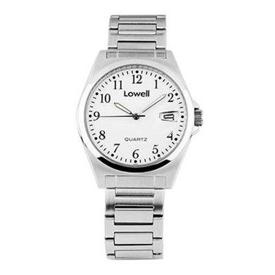 Armbanduhr Herren Stahl weiss PL4500 00 Lowell