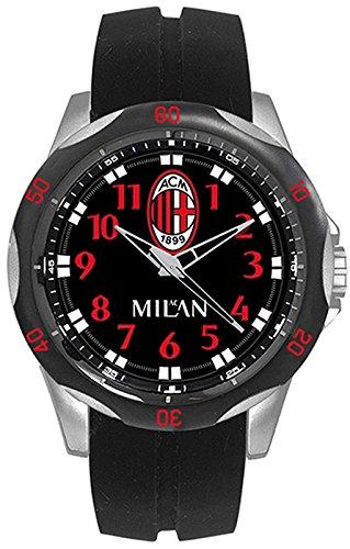 Offizielle Uhr Milan Fussball Sport 46 mm