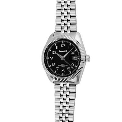Uhr Unisex Stahl schwarz pl4600 02 Lowell