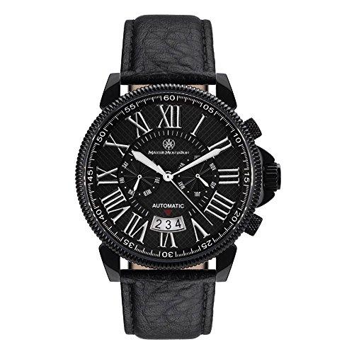 Mathis Montabon MM 04 Classique Moderne IP schwarz Leder
