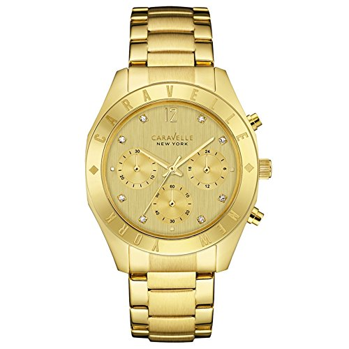 Caravelle New York Chronograph Quarz Edelstahl 44L213