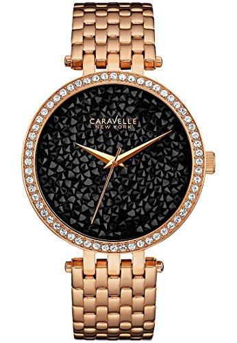 Caravelle New York Crystal Rock Damen Armbanduhr 44L231