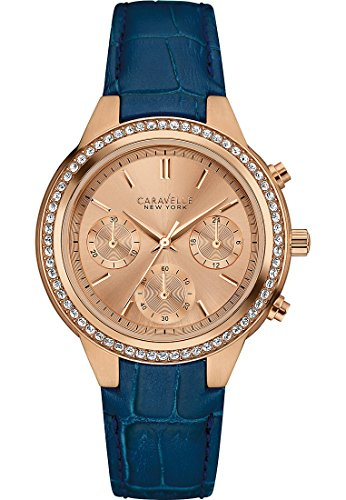 Caravelle New York Analog Quarz One Size rose blau