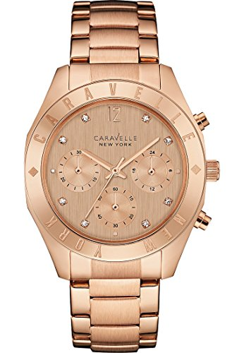 Caravelle New York Analog Quarz One Size rose rose