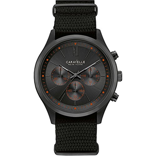 Caravelle New York Chronograph Quarz Nylon 45A130
