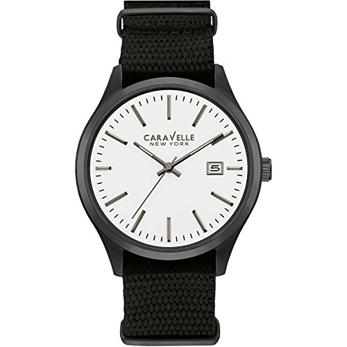 Caravelle New York Analog Quarz Nylon 45B142