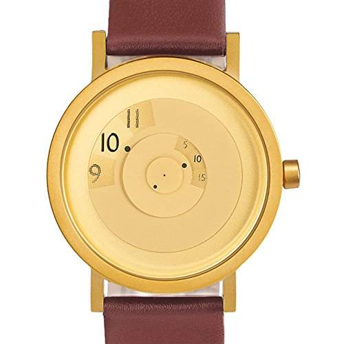 Projects Uhr Will-Harris - Reveal Stahl IP Messing - Leder 40mm Unisex