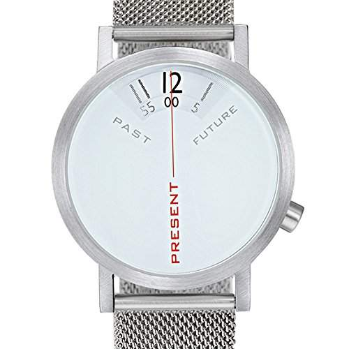 Projects Uhr Will-Harris - Past, Present, Future - Stahlnetz 40mm Unisex