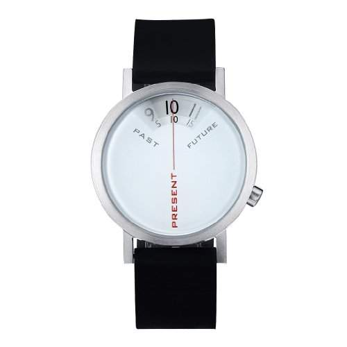 Projects Uhr Will-Harris - Past, Present, Future - Silikon 40mm Unisex