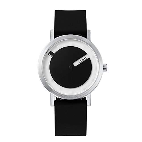 Projects Uhr Will-Harris - Till Stahl Weiss - Silikon 40mm Unisex