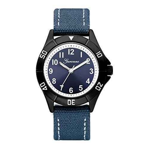 Garonne Analog Quartz Leder Blau KQ22Q463