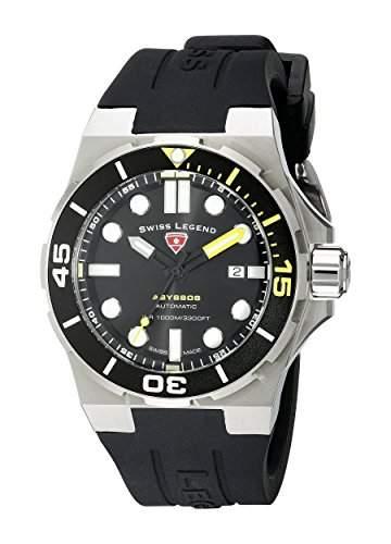 Swiss Legend Abyssos Herren-Armbanduhr Schweizer Automatik 10062A-01-YA-SM-RDB