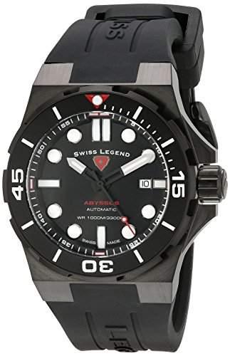 Swiss Legend Abyssos Herren-Armbanduhr 46mm 10062A-BB-01-BLK-SM-RDB