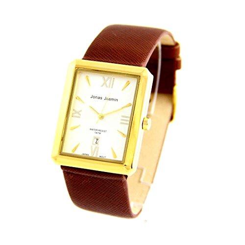 Damen Armbanduhr Leder braun Jasmin 189