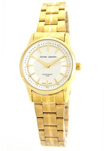 Damen Fashion Armbanduhr Stahl Jasmin 1514
