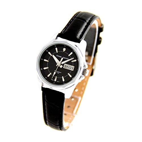 Zeigt Damen Armband Leder Farbe Schwarz Jasmin 193