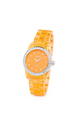 Brosway Uhren t color Mini orange transparent