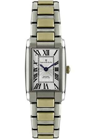 Dreyfuss & Co Ladies Hand Made Swiss Quartz Two Tone Bracelet Watch - DLB0005201