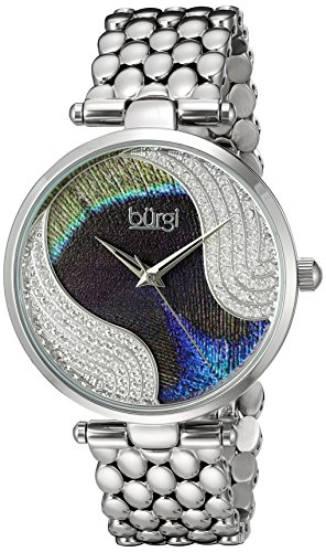 Buergi Armbanduhr Analog Quarz Edelstahl BUR162SS Silver