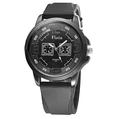 Bear Motion Design Casual Sport Armbanduhr bmwh070 mit schwarzem Zifferblatt Teller