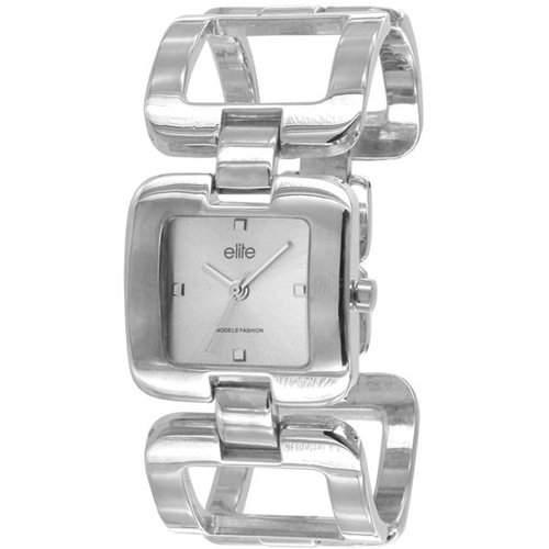 Elite Damen-Armbanduhr Femke Analog silber E50694204